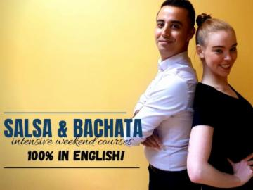 Meet new friends and dance! Salsa & bachata classes in English! 19-20.10