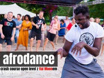 Afrodance z Val Moonem- crash course open 16.11