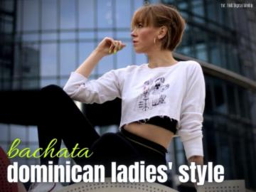 Dominican ladies styling open - crash course 23.01